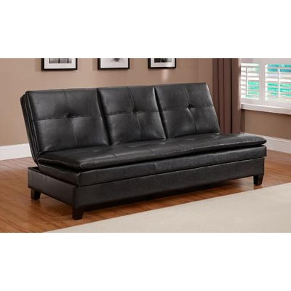 Jaclyn Smith Futon Contemporary Faux