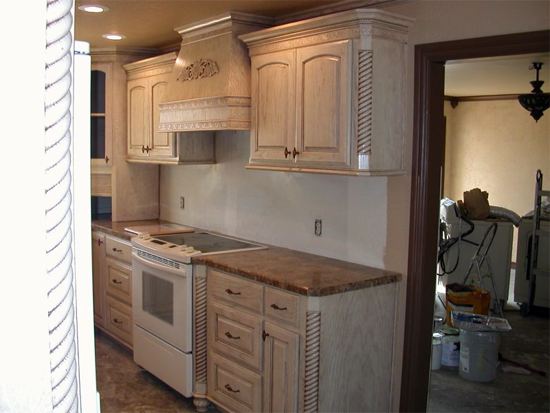 pickled oak cabinets - google search | for the home | pinterest