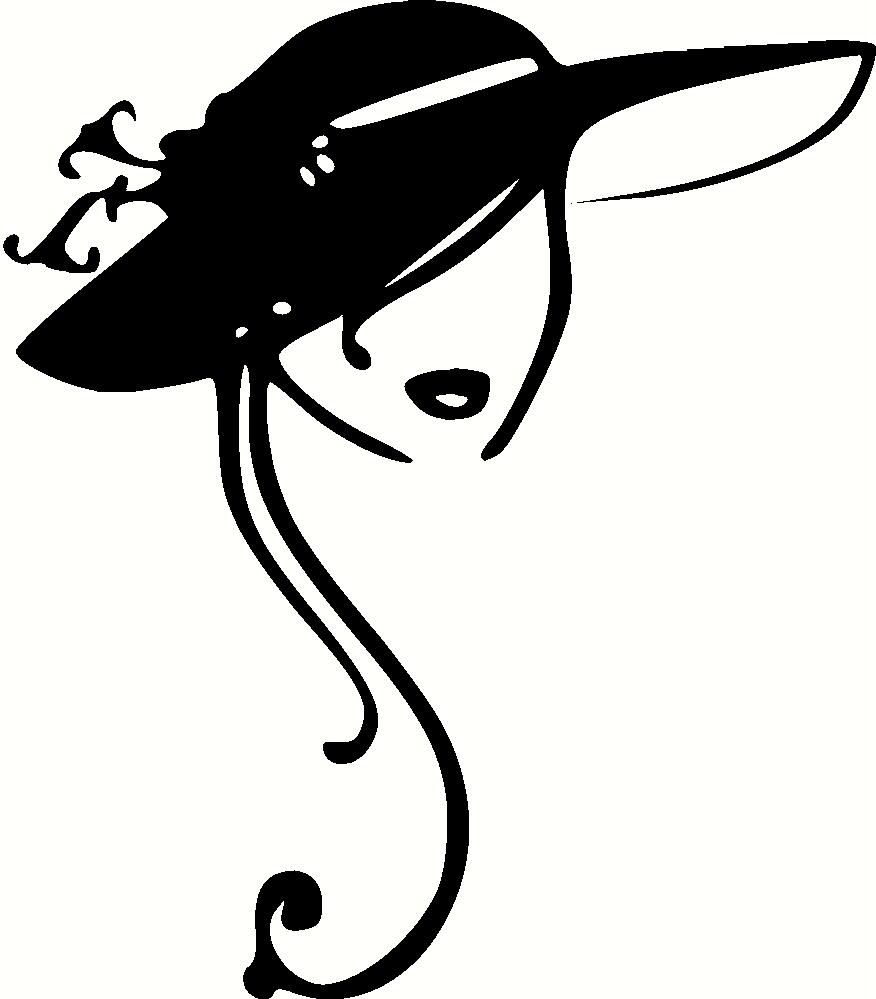 Party Hat Clipart Black And White Vintage Ladies Hats Clip Art Clipart Illustrations Hats For