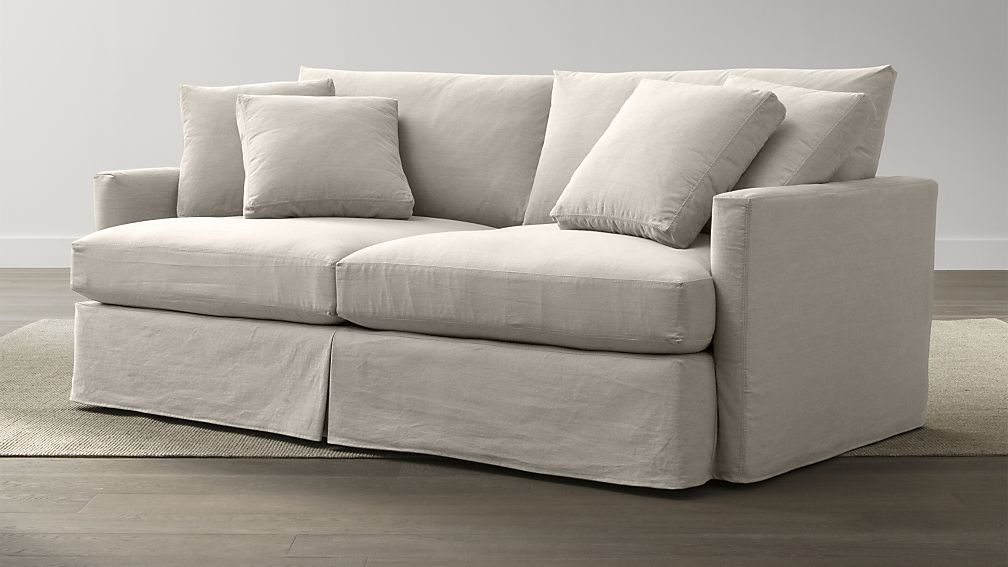 Slipcover Only For Lounge 83 Sofa Crate And Barrel 721 On Sale
