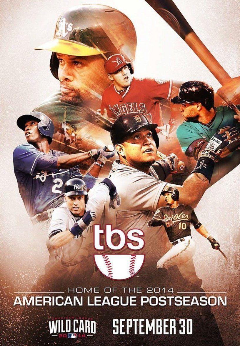 Mlb Postseason On Tbs In 2020 Sport Poster Design Sports Design Inspiration Sports Graphic Design
