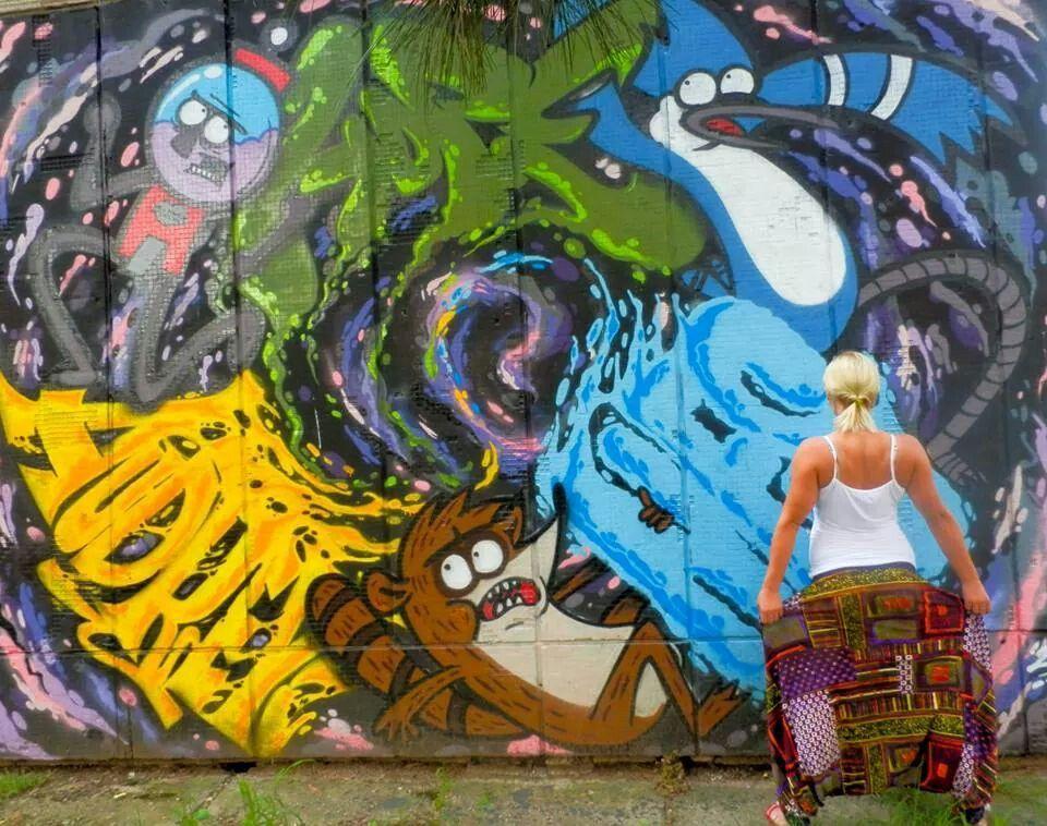 Graffiti Fashion Graffiti, Anime, Art