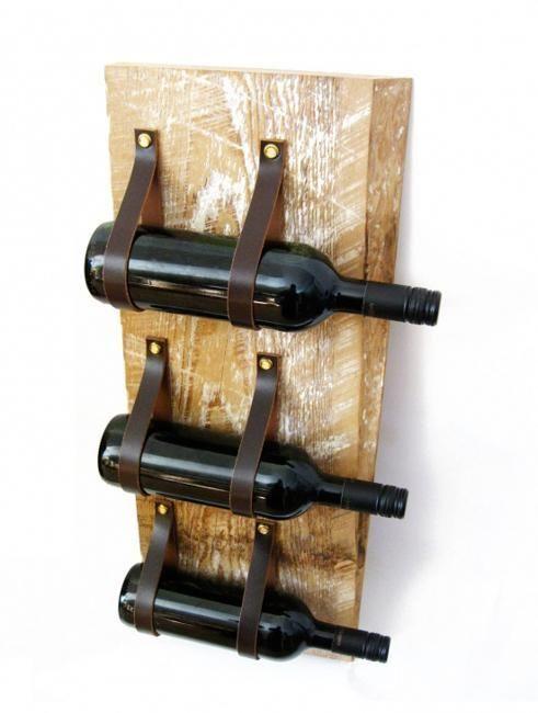 15 amazing diy wine rack ideas wood wine racks recycled for Wine bottle shelf diy