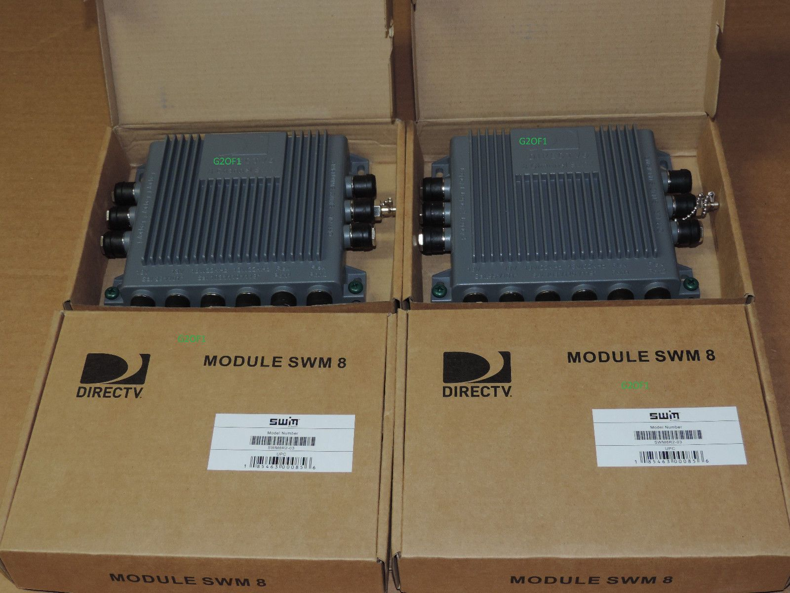 Satellite Signal Multiswitches: Lot Of 4 Directv Swm 8 Multiswitch Swm 8 Swm Whole Home Green New -> BUY IT NOW ONLY: $99.95 on eBay!