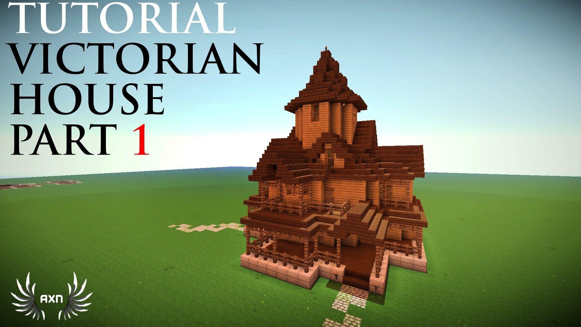 Minecraft tutorials victorian house part 1 5