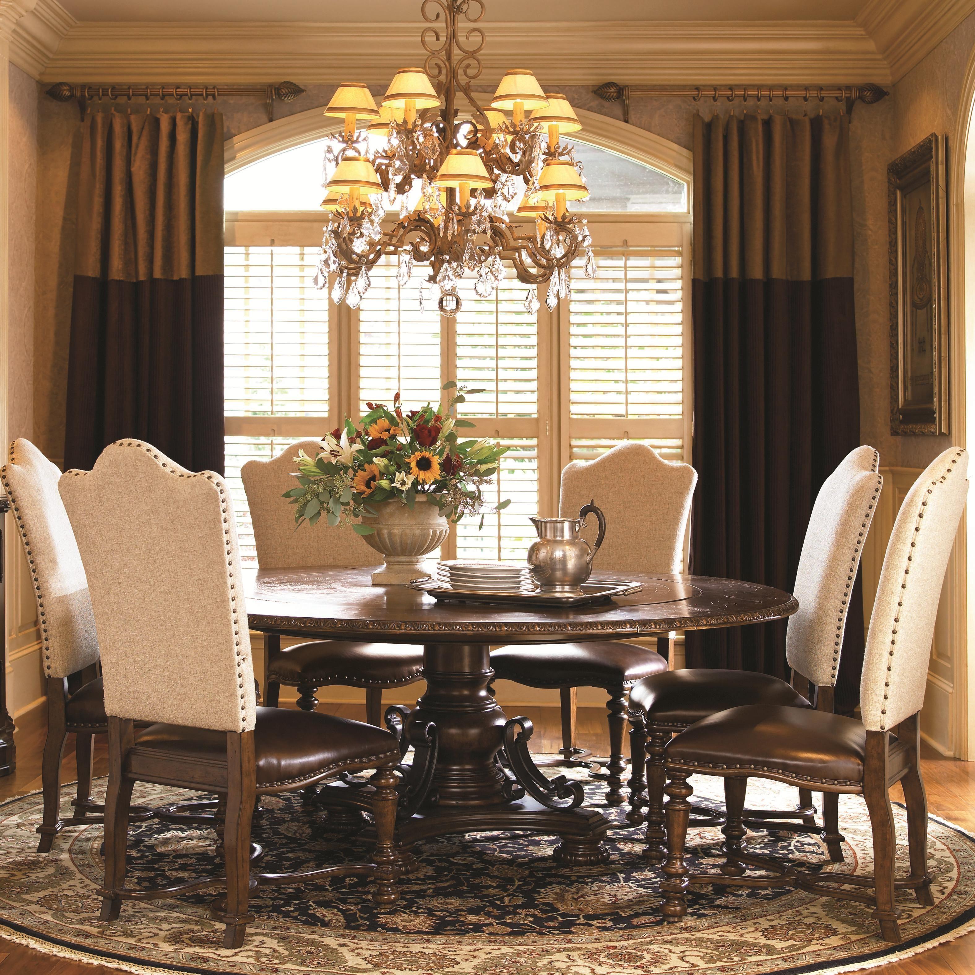 Living Room Furniture Hamilton Ontario universal bolero 7 piece dining set | stoney creek furniture