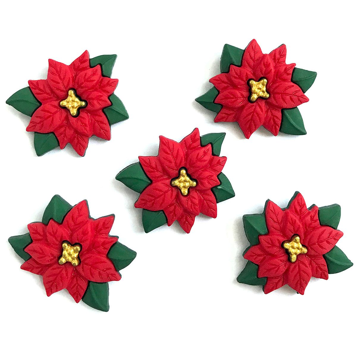 Poinsettias Part Of Our Brand New 2019 Christmas Collection Of Themed Buttons See Them All Here Https Buttonsgaloreandm Christmas Crafts Crafts Christmas