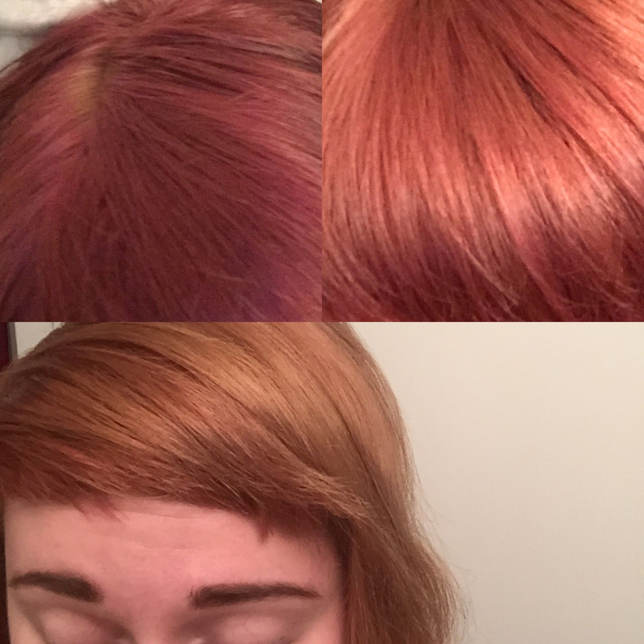 Hair Dye Removal I Popped Open 10 15 1000 Mg Vitamin C Capsules And Mixed With A Lemon Shampoo And Left On Last Night For 30 4 Hair Dye Removal Dyed Hair Hair