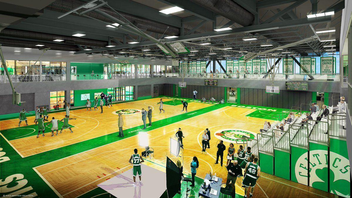 Auerbach Center Practice Facility Celtic pride, Boston