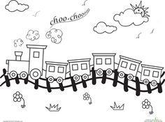 Train Track Outline Google Search Train Coloring Pages Coloring Pages Coloring For Kids