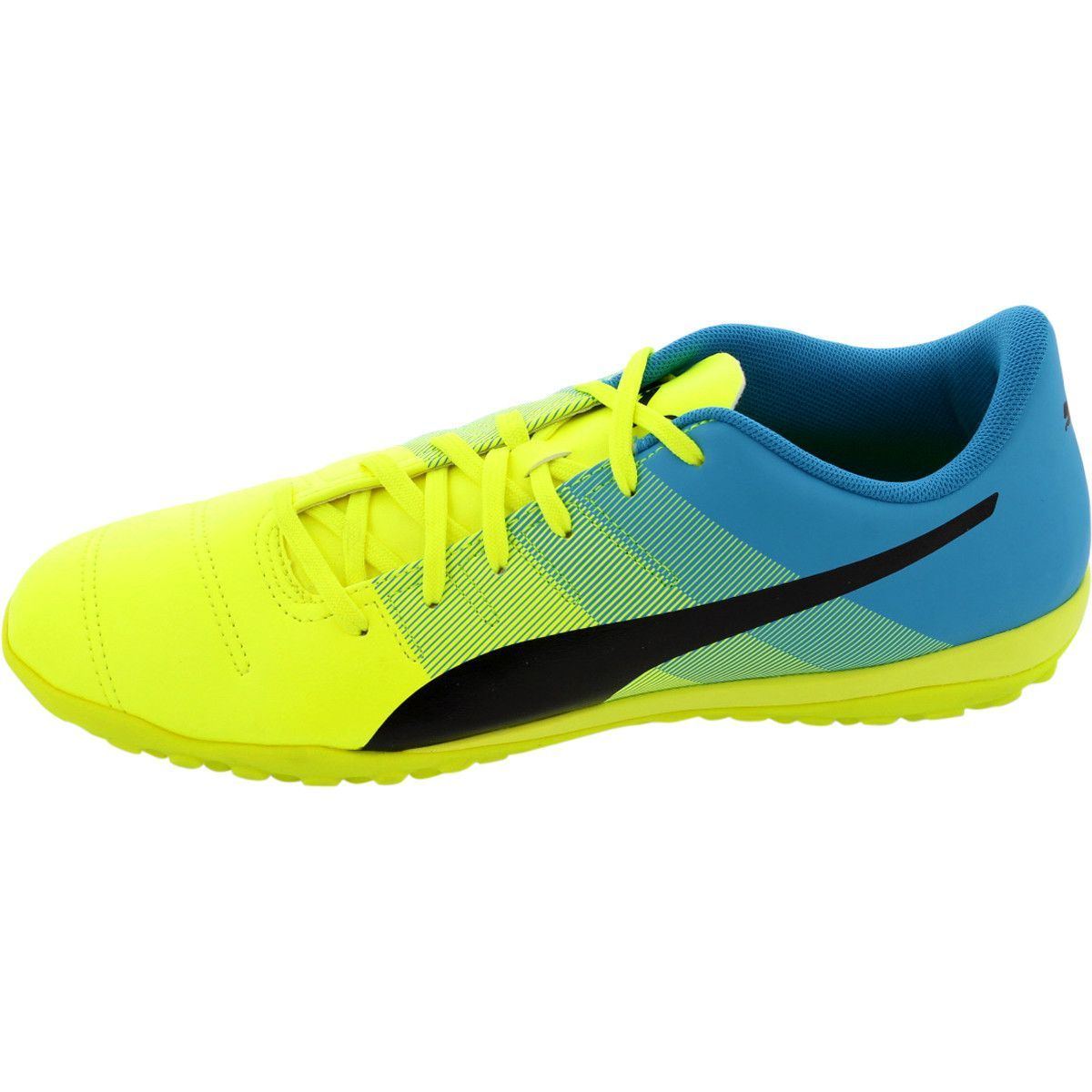 49768c076 Puma - Men's Evopower 4.3 Tt Sneakers - Yellow/Black/Atomic Blue ...