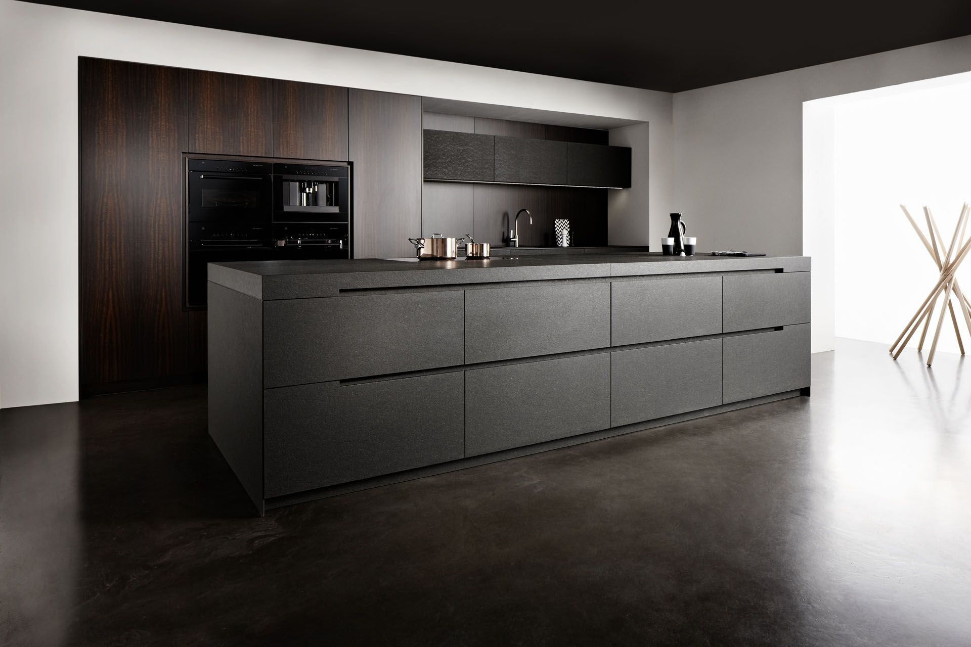 Discover All The Information About The Product Contemporary Kitchen /  Wooden / Stone / Island NERO ASSOLUTO   Eggersmann Küchen GmbH U0026 Co.