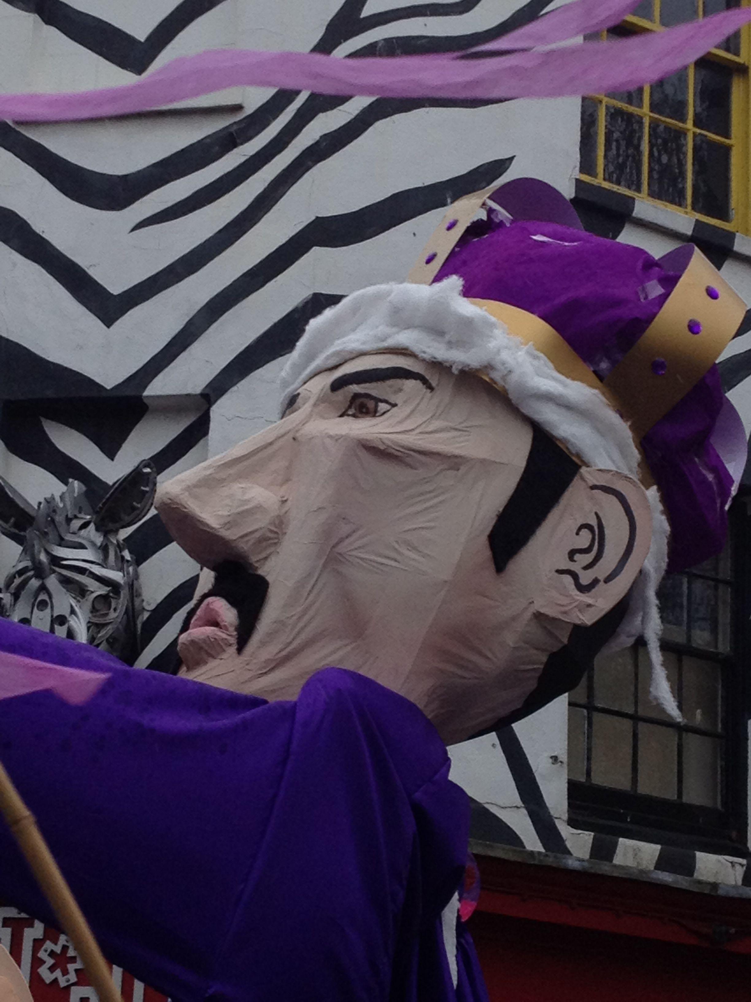 Brighton Festival Parade 2013- The King