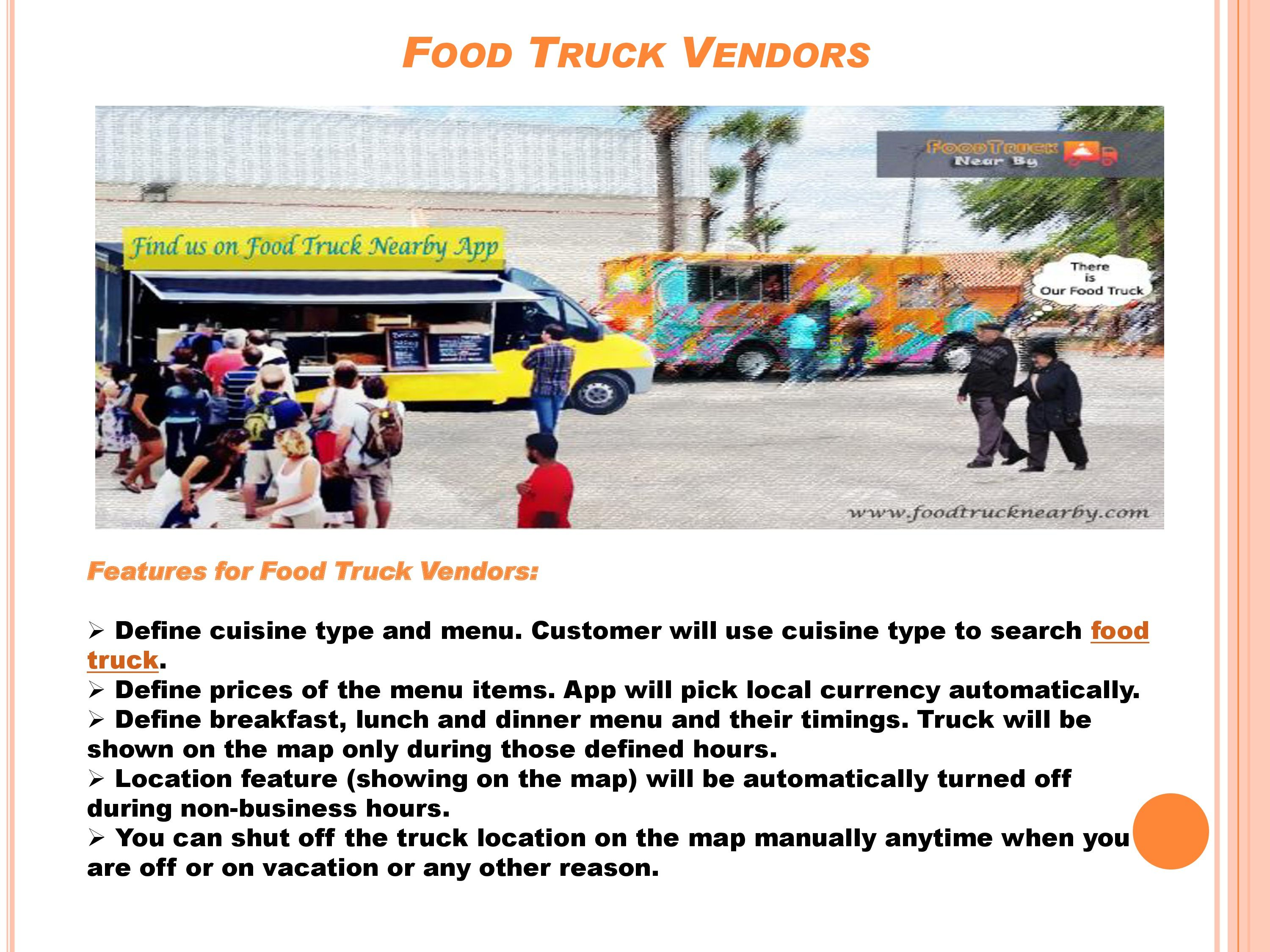 The world's most fastest way to find food truck Available on Play Store download App here: iOS/iPhone/iPad: http://tinyurl.com/nbxgnky Android: http://tinyurl.com/peeanzm