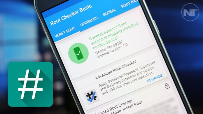 root galaxy s6 nougat supersu