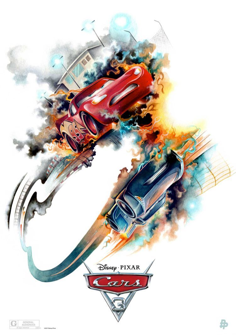 You Ve Got To See These 4 Amazing Cars 3 Prints From Poster Posse