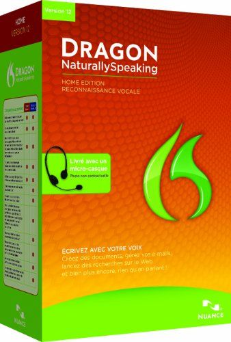 Dragon Naturallyspeaking Home 120 French For More Details Visit