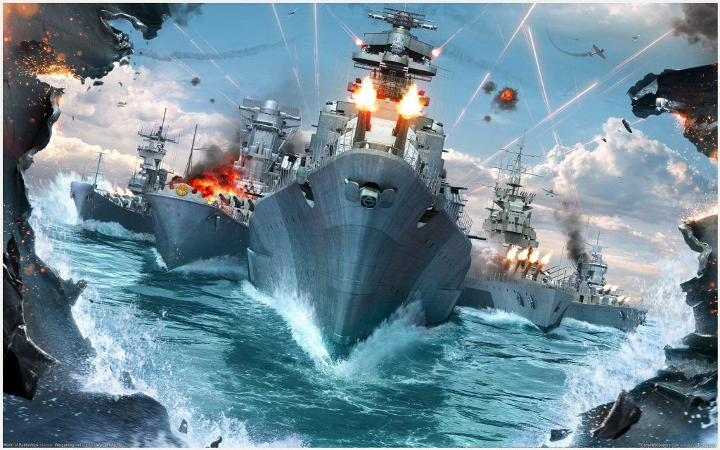 World Of Warships Game Wallpaper World Of Warships Game
