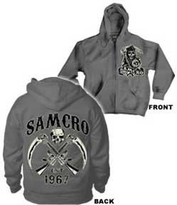 Sons Of Anarchy Hoodies For Men Sons Of Anarchy Reaper Sweatshirts Sons Of Anarchy