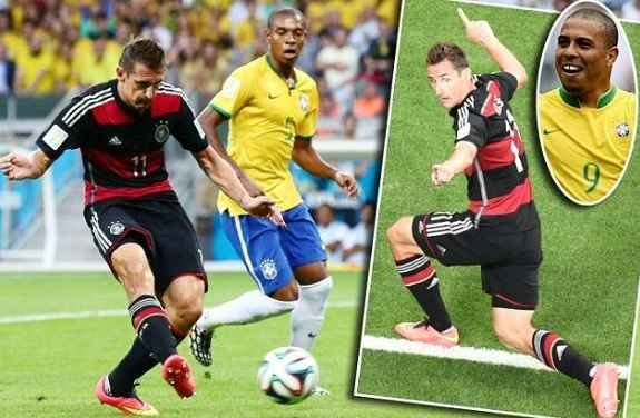 How Miroslav Klose Became Top Goal Scorer World Cups World Cup Miroslav Klose World Cup 2014