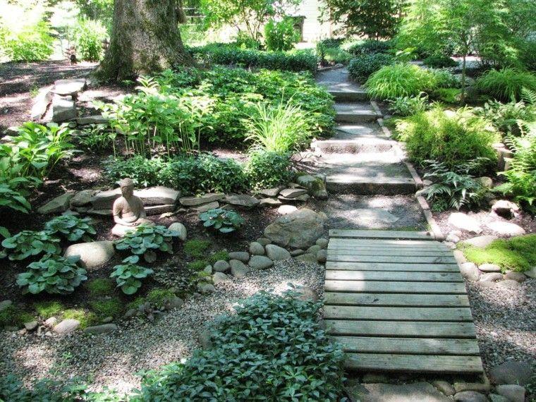 dise o jardin japones para los espacios de exterior