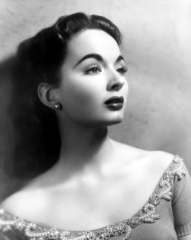 La actriz y cantante estadounidense ann blyth divas de la edad de oro del cine - Ann diva del passato ...
