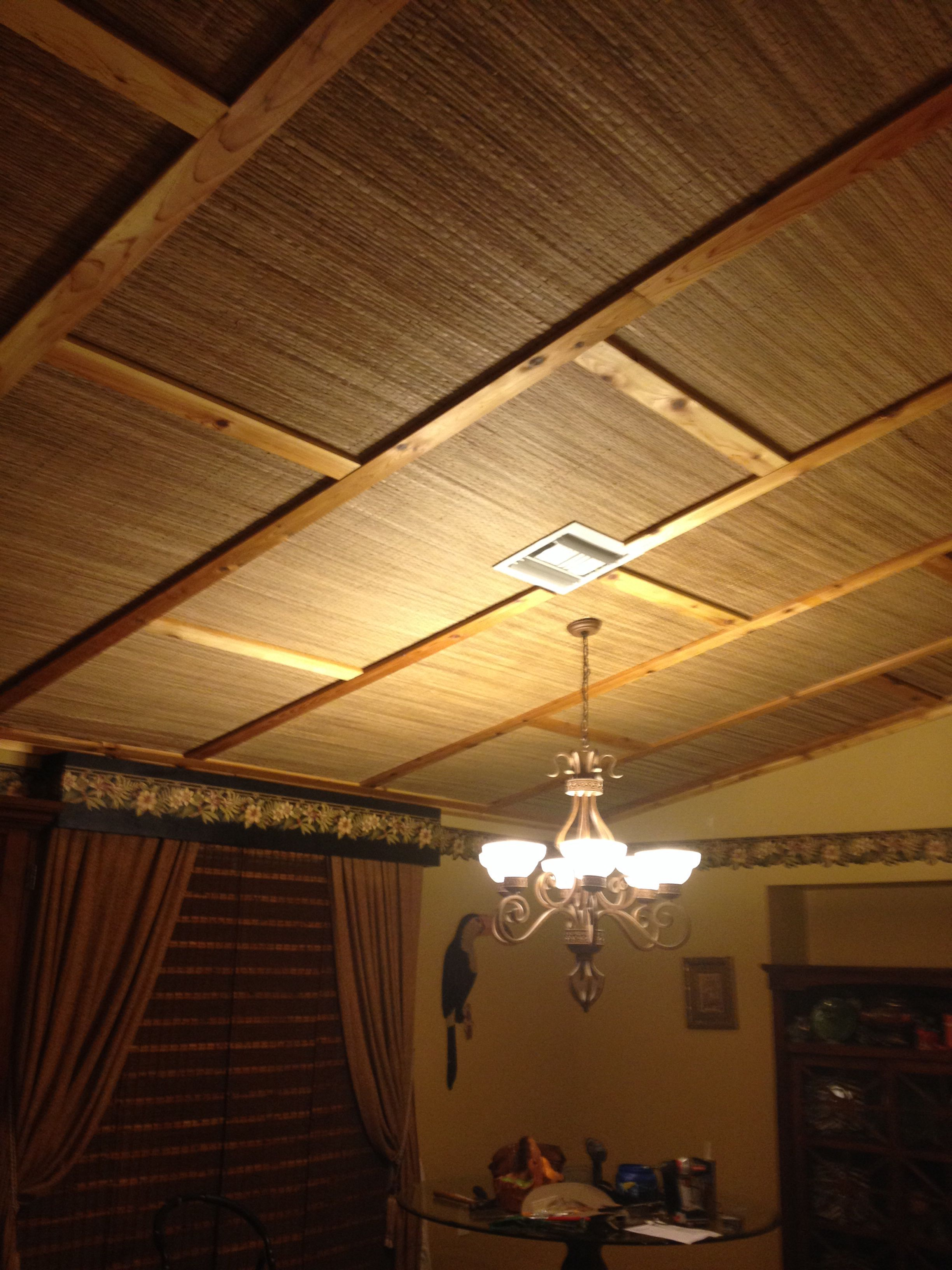how to put up a ceiling
