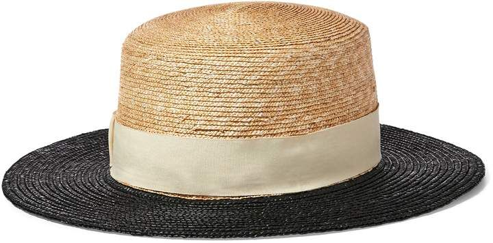 24436c896805e8 Women's Hats. Ralph Lauren Straw Boater Hat. (Shopstyle Affiliate ...