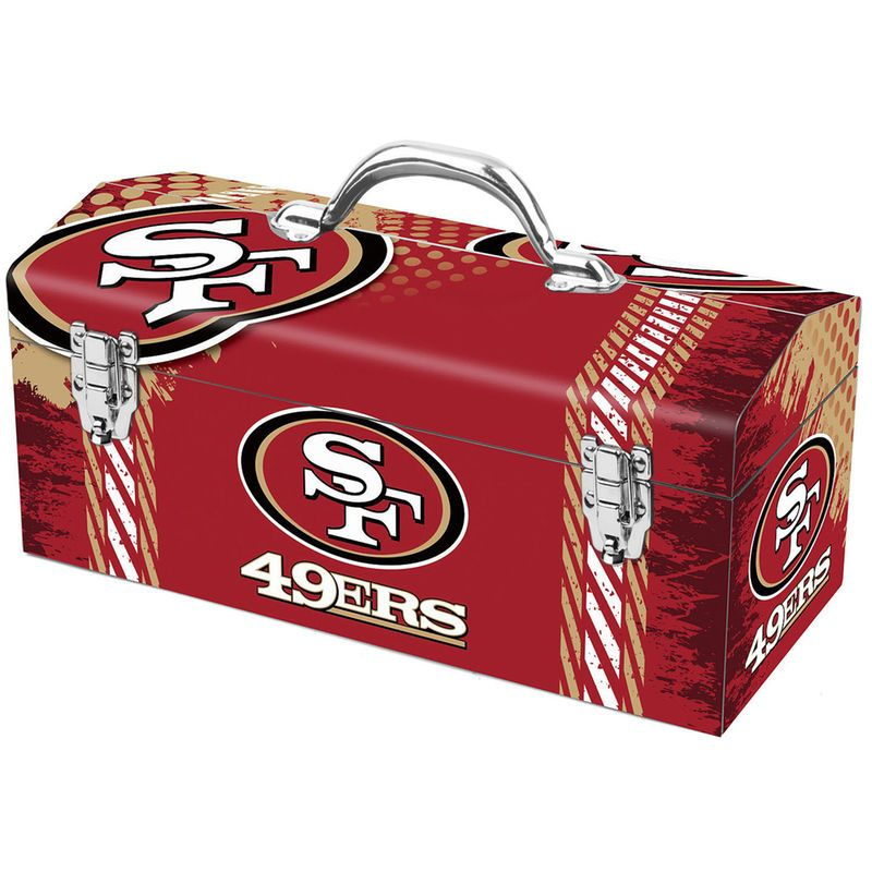 San Francisco 49ers Steel Tool Box