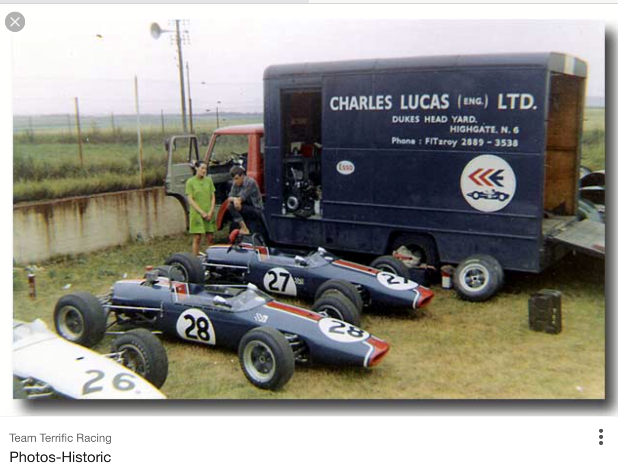 "Charles Lucas Engineering ""The Eng "" Reims 1967 Brabham BT21"