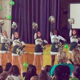 Stuff Students Say and Other Classroom Treasures: Testing Pep Rally: Five For Friday!