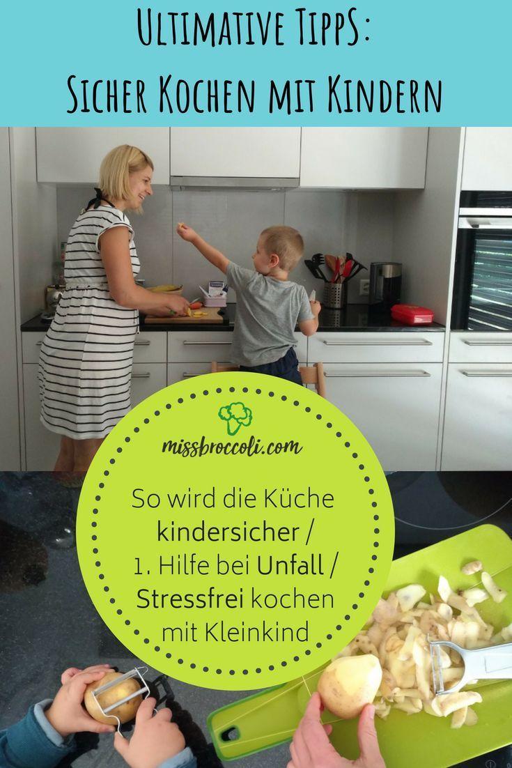 Kochen mit Kindern: Tipps für Kindersicherheit & 1. Hilfe in der ...