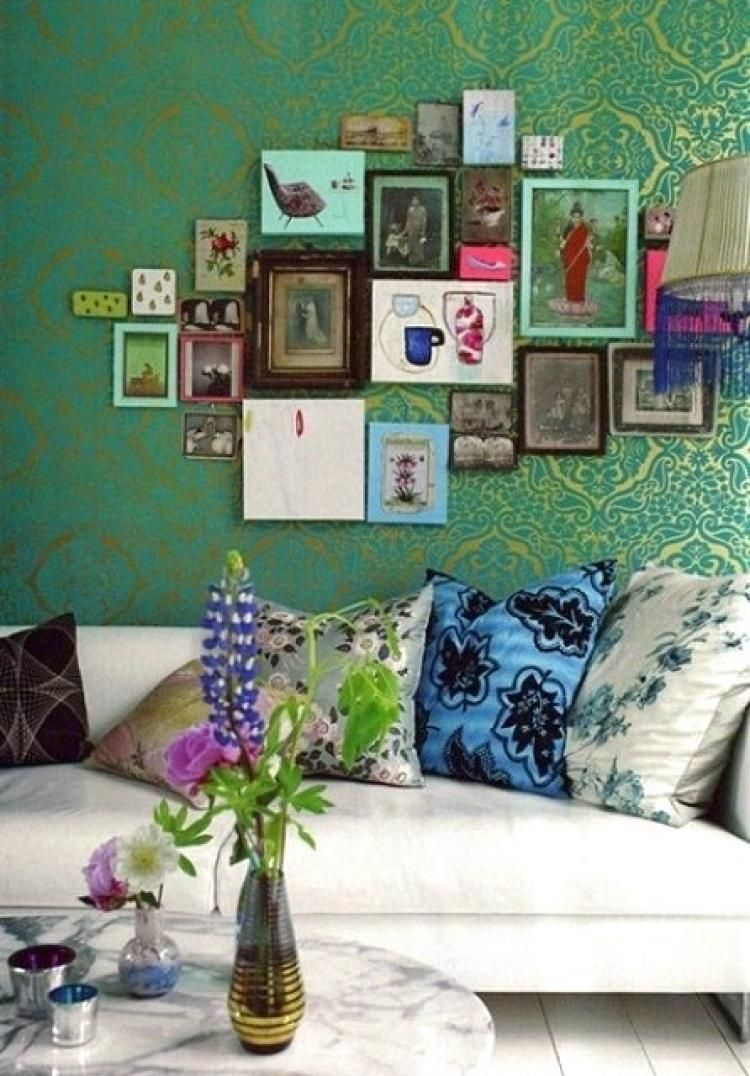 marvelous paris themed living room decor | Marvelous Pictures Of Bohemian Style To Decorate Your Room ...