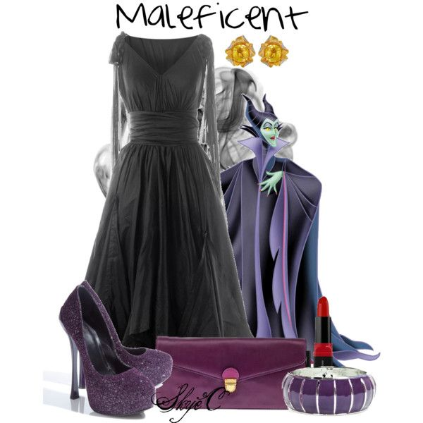 Maleficent Outfit Disney Outfit In 2019 Disney Inspired