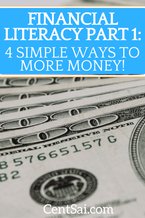 Financial Literacy 4 Simple Ways to More Money