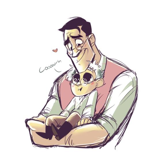 D'awww (guessing that's human Archimedes) | TF2 | Team