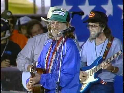 On The Road Again Live At Farm Aid 1985 By Willie Nelson Inspires People To Travel Willie Nelson Travel Songs Neil Young