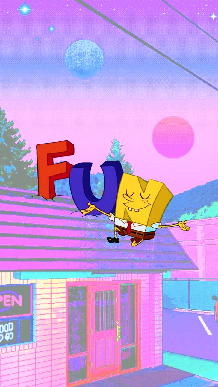Spongebob Aesthetic Phone Wallpapers 3 In 2019 Cartoon