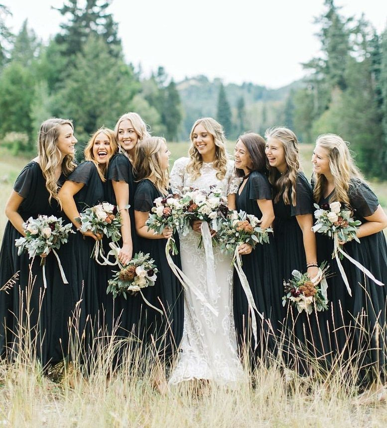 14a84ee0056 44 Long Bridesmaid Dresses That You Will Absolutely Love - bridesmaid dress   bridesmaid