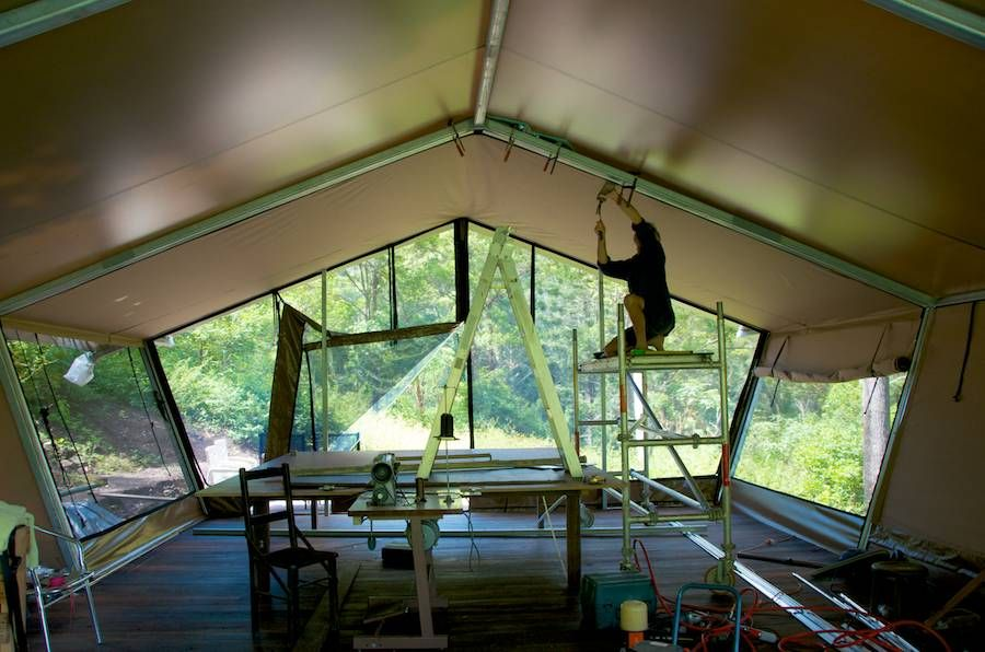 Beside pristine rapids and Queenslandu0027s Lamington National Park nightfall c& blends luxury tent u0027gl&ingu0027 with fire-cooked food and off-the-beaten track ... & Building nightfall camp is a labour of love! Weu0027re thoroughly ...