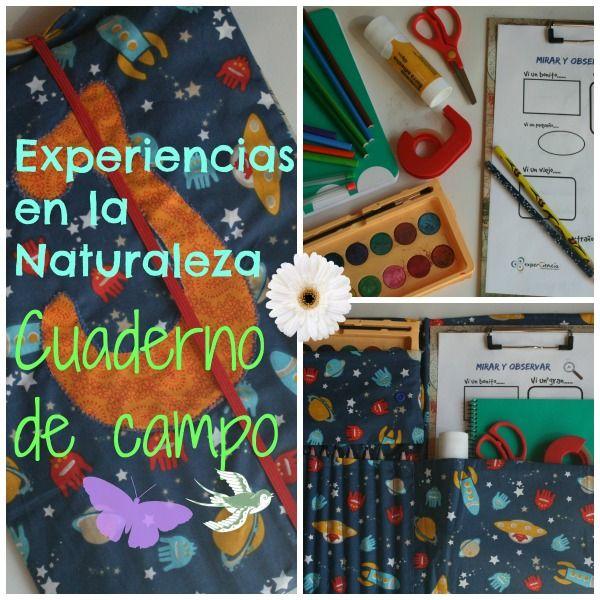 Cuaderno de Campo (con imprimible gratuito)