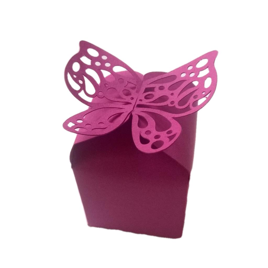 Butterfly Small Gift Box Engagment Box Ring Box Jewellery Box ...