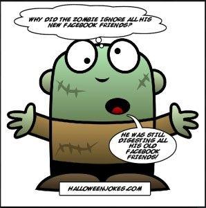zombie joke for halloween humor - Halloween Humor Jokes