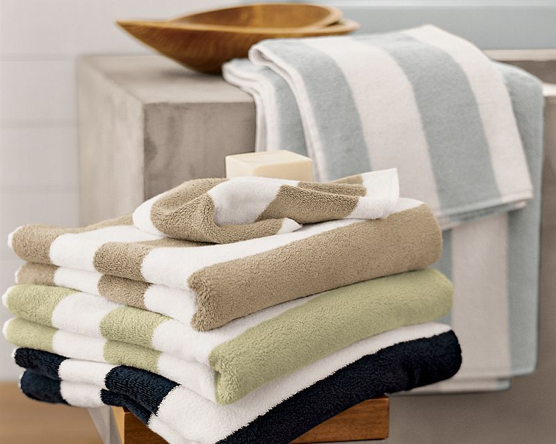 Steal of the Day: Pottery Barn Classic Stripe Bath Towels