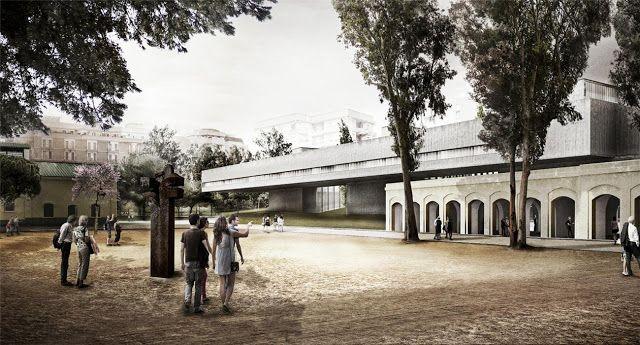 Guillermo Vázquez Consuegra.  baricentrale: ideas for railway areas . bari
