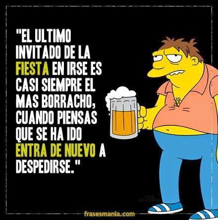 El Mas Borracho Barney Gumble Barney Humor