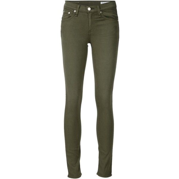 320fed25502 Army green Green Skinny Jeans