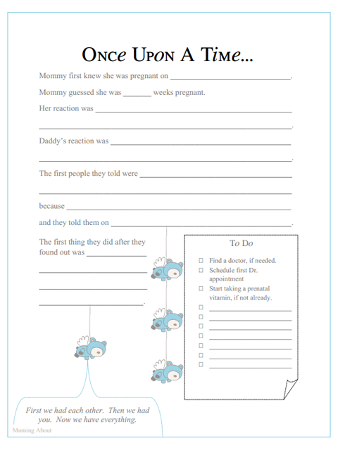 photo regarding Baby Memory Book Pages Printable called Visitor Blogger: Amanda Free of charge Printable Boy or girl E-book Internet pages