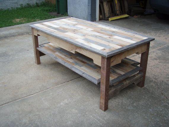 Pallet Coffee Table Table De Salon Idees De Meubles