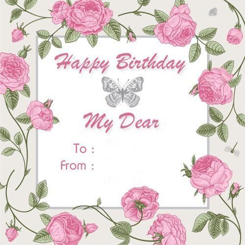 Create Custom Birthday Wishes Greeting Card With Name Rita